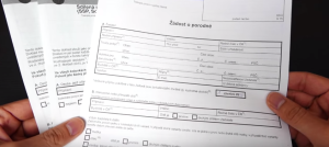 VIDEO___ Cách điền giấy xin trợ cấp sinh con tại CH Séc, Porodné (13 000 / 10 000 CZK).