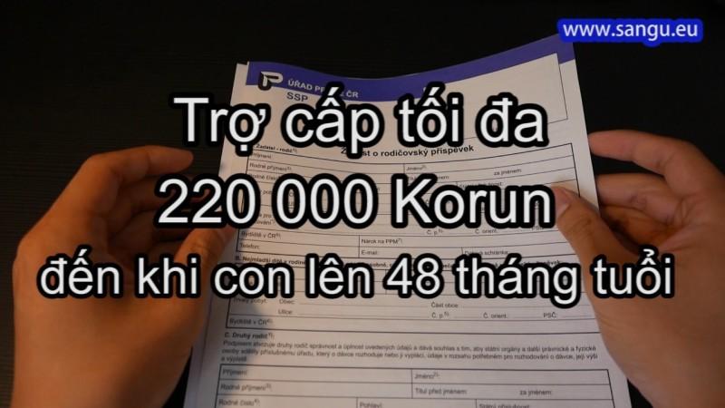 VIDEO___Cách điền giấy xin trợ cấp NUÔI CON tại CH Séc.