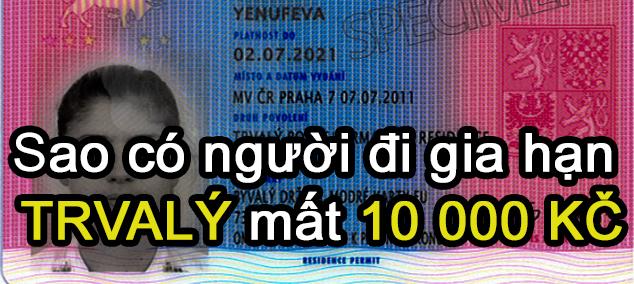 """Đi """"gia hạn"""" thẻ TRVALÝ mất có 2 500 Korun!"""
