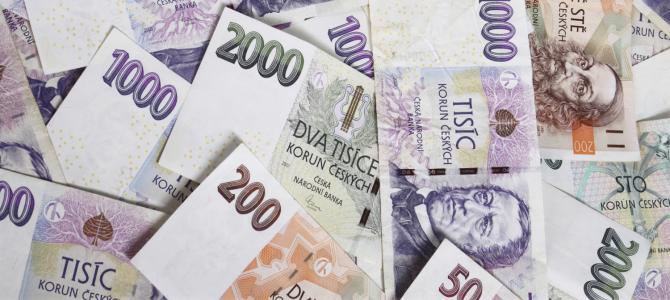 Trên các đồng tiền CZK của Séc có những ai?