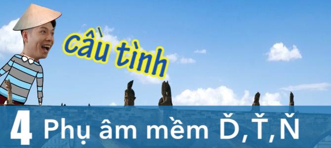 VIDEO___Giao tiếp bằng tiếng Séc (tập 4) : Phụ âm mềm Ď, Ť, Ň