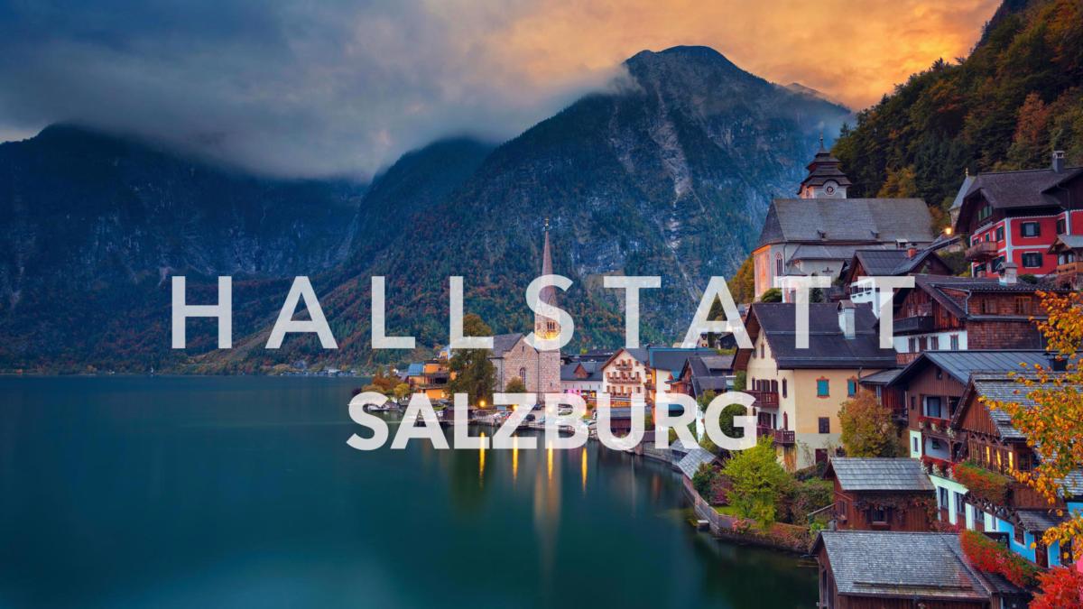 Hallstatt và Salzburg, làng cổ nước Áo!
