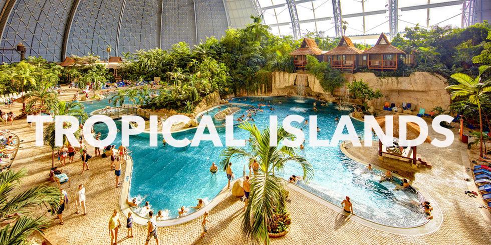 """Biển nhân tạo """"Tropical Islands – Đức"""""""