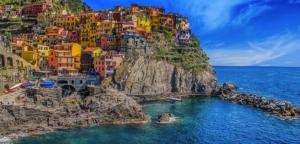 Italy- tắm biển Cinque Terre
